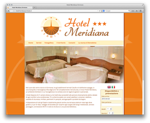 Screenshot sito www.hotelmeridianasirmione.it